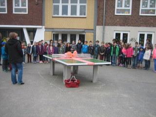 Förderverein Tischtennisplatte